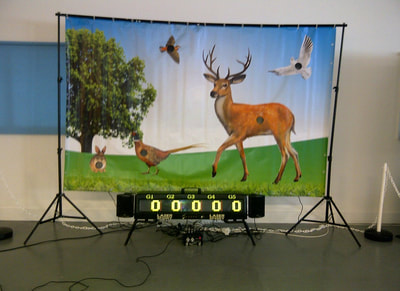 Bishops Stortford indoor laser shooting simulator