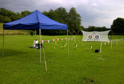 corporate archery experience days in Evesham