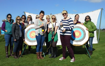 Hen Party Archery activity