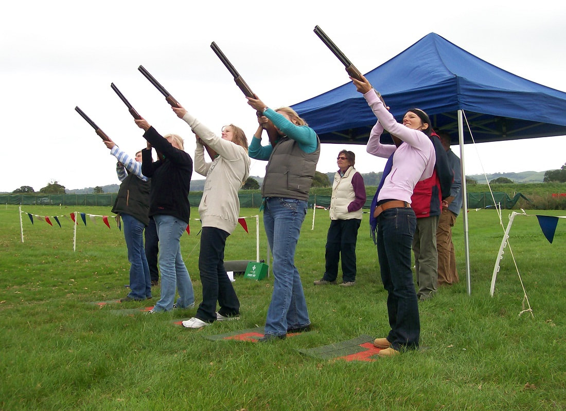 Hen Party Laser Clay Shooting Experience