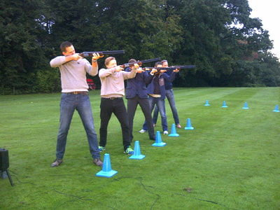 laser clay pigeon shooting New Forest