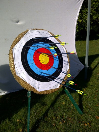 mobile archery hire New Forest