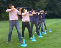 Stag Party Laser Clay Shooting Experience